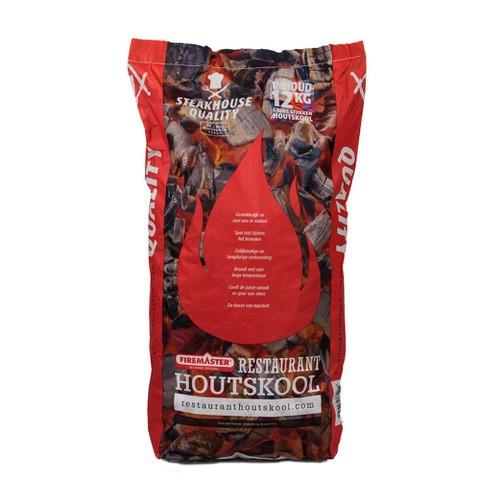 Houtskool 12kg rood