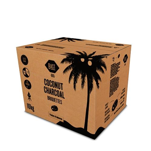Kokoskool-Briketten-10kg Firemaster Houtskool
